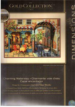 Charming Waterway 70-35306 / Очаровательное кафе возле воды