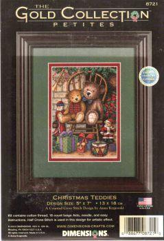 Christmas Teddies 8721 / Рождественские мишки