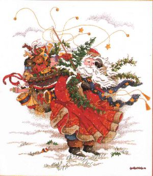 Windswept Santa 8449 / Открытый Санта