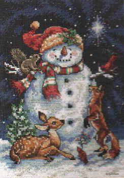 Midnigth Snowman 8561 / Снеговик в Полночь