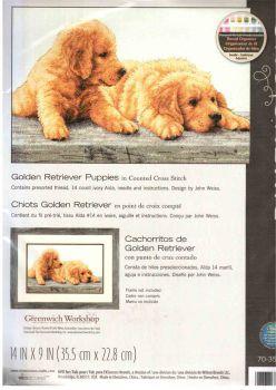 Golden Retriever Puppies 70-35309 / Золотые Щенки Ретривера