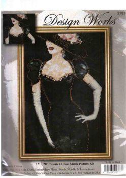 Lady in Black 2783 / Девушка в Черном