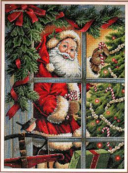 Candy Cane Santa 8734 / Конфетка Санты