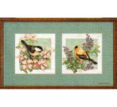 Birds of Spring 35029 / Весенние Птицы