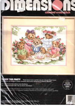 Teddy Tea Party 3733 / Чаепитие Мишек Тедди