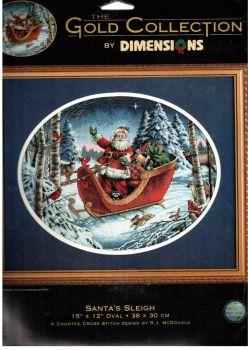 Santa`s Sleight 8664 / Катание Санты