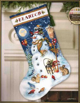Snowman & Friends 70-08839 / Сапожок Снеговик и Друзья