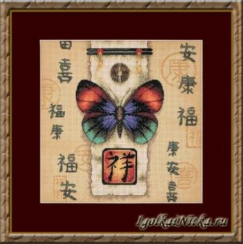 Oriental Butterfly 35034 / Восточная бабочка