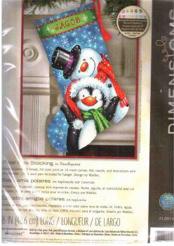 Polar pals stocking 71-09153 / Сапожок Полярные Друзья