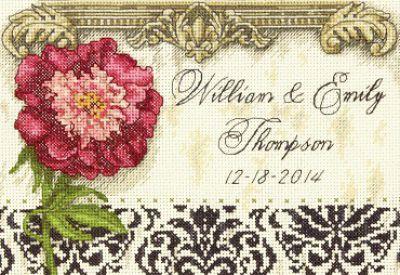 Elegant wedding record 70-65138 / Элегантная метрика для Свадьбы