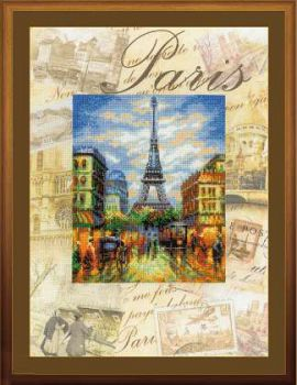 Города мира. Париж 0018 РТ
