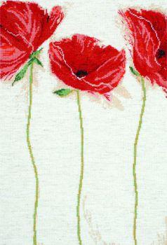 Flamenco Poppies 2435 / Маки Фламенко