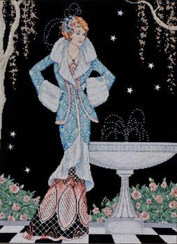 Midnight Fountain 2797 / Полуночный фонтан
