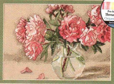 Peonies in Vase 650480 / Пионы в Вазе