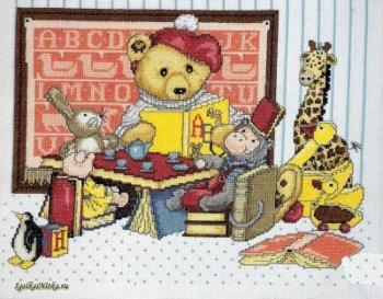 Teddy Bear Tea Party 9668 / Чайная церемония