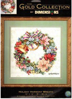 Holiday Harmony Wreath 8662 / Праздничный венок