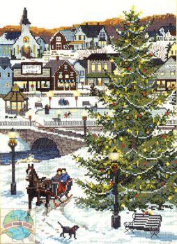 Christmas Village 02966 / Сельское Рождество