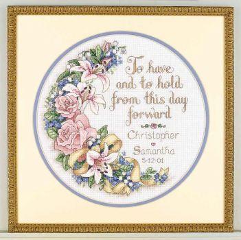 To Have and To Hold Wedding Record 03892 / Свадебная метрика Иметь и Держать