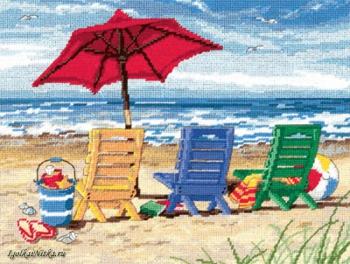 Beach Chair Trio 72-120022 / Трио пляжных кресел