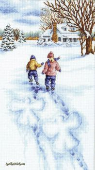 Snow Angels 13717 / Снежные ангелы (США)