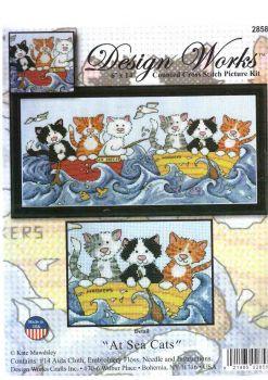 At Sea Cats 2858 / Морские котята