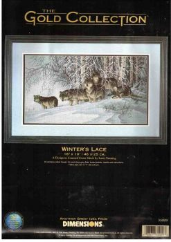 Winter's Lace 35009 / Волки зимой
