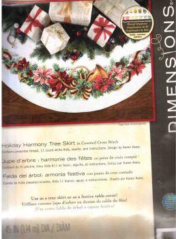 Holiday Harmony Tree Skirt 70-08939 / Юбка для елки Праздничный венок