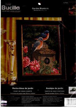 Garden Bluebirds 43960 / Садовые синие птички