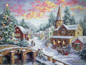 Holiday Village 08783 / Праздничная деревня