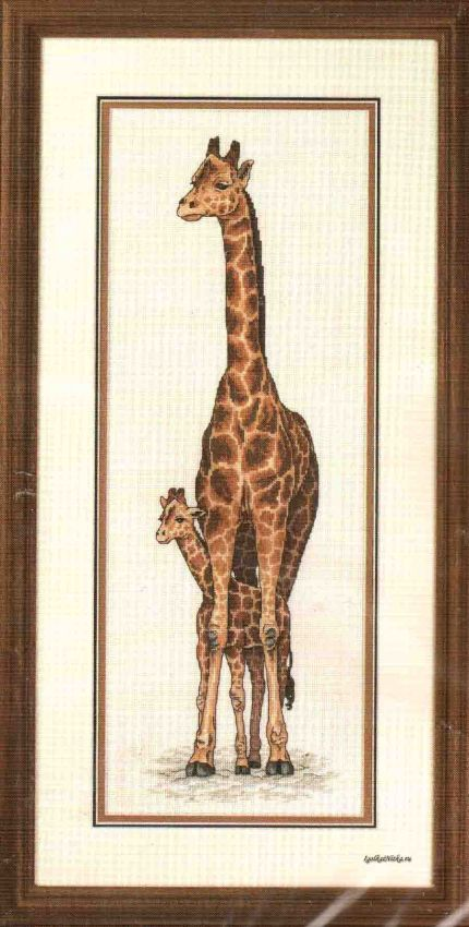 Жирафы вышивка значение 67