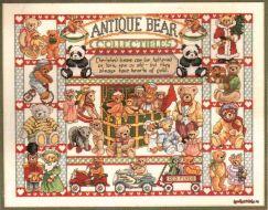 Antique Bear Collectibles 3756 / Антикварный коллекционный медведь