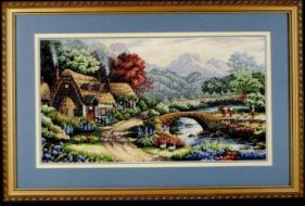English Valley Cottage 35019 / Английский коттедж в долине