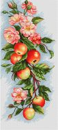 Композиция с яблоками B211