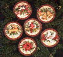 Old World Holiday Ornaments 8813 / Старинные Всемирные праздничные украшения