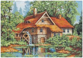 Мельница в лесу В480