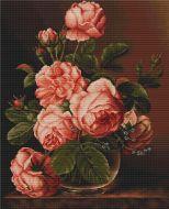 Ваза с розами В488