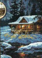 Moonlit Cabin 65007 / Бунгало в лунном свете