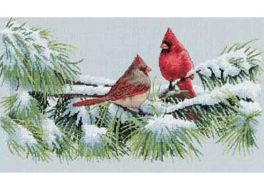 Winter Cardinals 35178 / Зимние кардиналы
