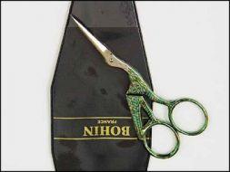 Bohin Stork Giakarta Embroidery / Ножницы-цапельки Джакарта фирмы Бохин