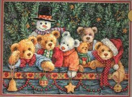 Beary Christmas 8761 / Рождественские мишки