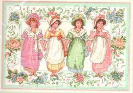 Victorian Girls  13604 / Викторианские девочки