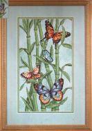 Butterflies and Bamboo 035120 / Бабочки и бамбук (США)