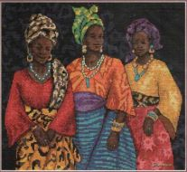 Three Yoruban Women 350920 / Три Африканки ( Китай)