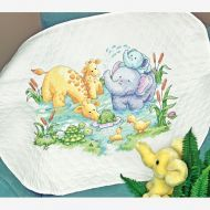 Little Pond Quilt  70-73924 / Детское одеяло Маленький пруд