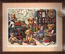Buttons and Bears 351510 / Пуговицы и мишки (США)