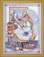 Angel of cross stitch  9952 / Ангел вышивки