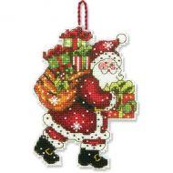 Santa with Bag Ornament 70-08912 / Орнамент Санта с мешком