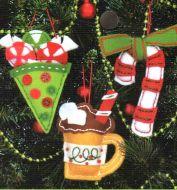 Sweet Treat Ornaments 72-08185 / Сладостные Орнаменты