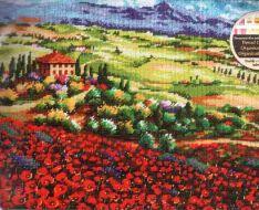 Tuscan Poppies 71-20084 / Маки в Тоскане