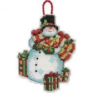 Snowman Ornament 70-08896 / Орнамент Снеговик